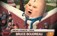 Player Shot – Coach Bruce Boudreau