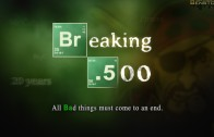 Breaking .500 Poster
