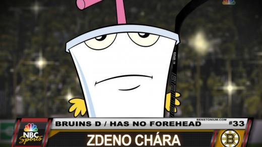 Player Shot – Zdeno Chara