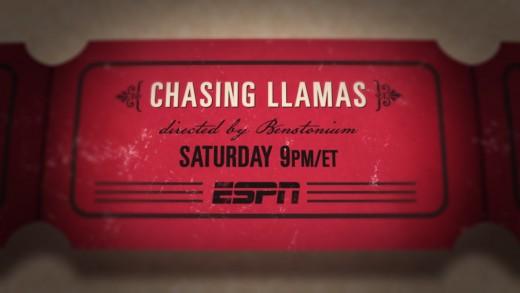 30 For 30 – Chasing Llamas