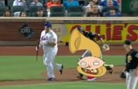 Stewie Griffin Follows Bartolo Colon with Tuba