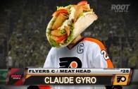 Player Shot – Claude Giroux