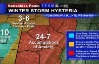 Honest Weather Map – Winter Storm
