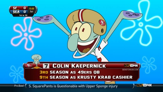 Player Shot – Colin Kaepernick