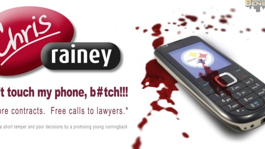 Chris Rainey Phone Ad