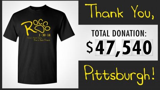 Rocco K-9 T-Shirt Donation
