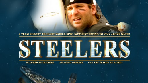 Steelers / Titanic Poster
