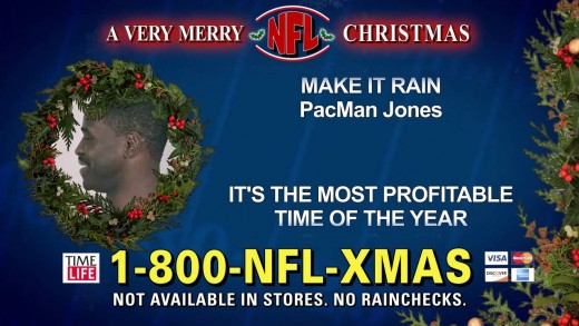 """A Very Merry NFL Christmas"" Music Collection Commercial Parody"