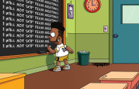 "Antonio Brown – ""Simpsons"" Chalkboard"