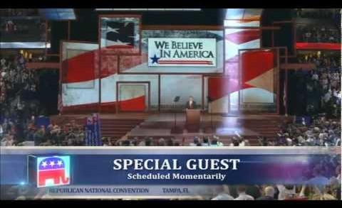 Hologram Ronald Reagan @ 2012 Republican National Convention