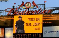 Jerry Meals Scoreboard Message