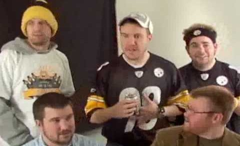 "Mike Tomlin and Iron City Parody – ""The Streaker"""
