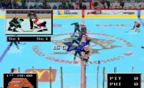 NHL '94 Replay – Penguins vs. Flyers [3/24/13]