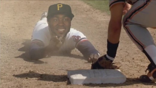 "Josh Harrison as Willie Mays Hayes from ""Major League"""