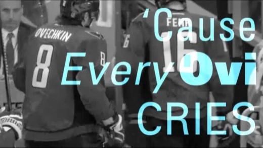 """Every Ovi Hurts"" – Ovechkin Upset / R.E.M. Remix"