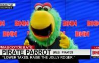 Mascot Debate – Pirate Parrot