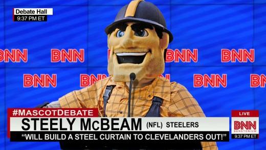 Mascot Debate – Steely McBeam