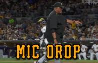 GIF: Clint Hurdle. Mic Drop.