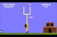 Antonio Brown Goalpost / Super Mario Bros. Remix
