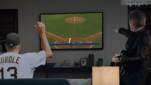"Clint Hurdle / DirecTV Commercial — ""The Unintentional Walk"""