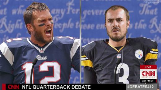 Tom Brady / Landry Jones Debate