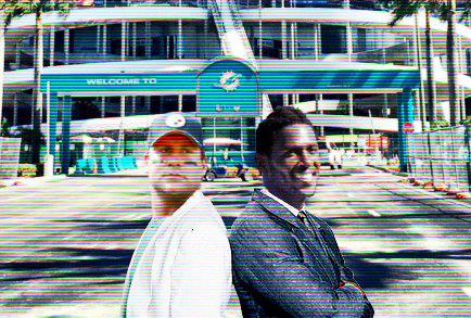 Steelers / Miami Vice Poster