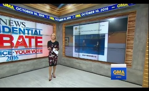 Benstonium Tweet on Good Morning America [10/10/16]