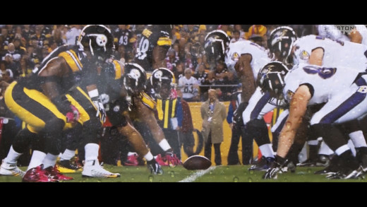 "Steelers vs. Ravens Pump-Up Video 2016 — ""Reign O'er Me"""