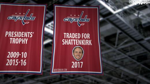 Washington Capitals 2017 Banner