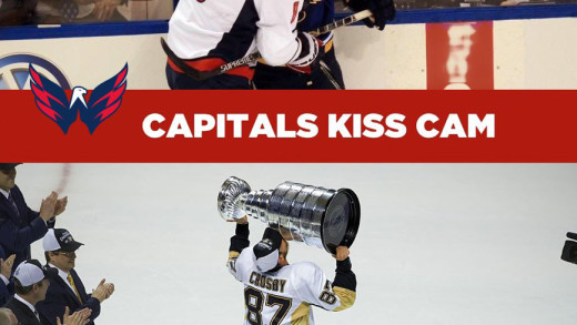 Kiss Cam – Pens vs. Caps