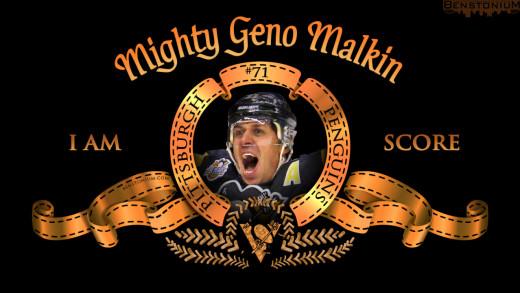Evgeni Malkin / MGM Logo