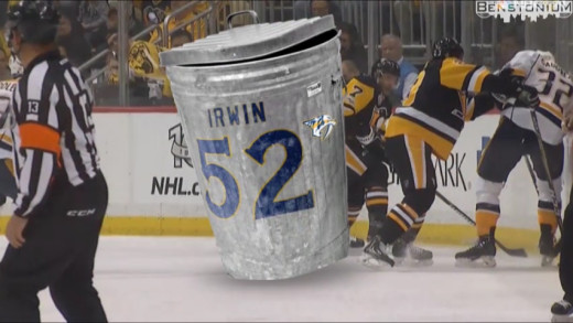 Garbage Can Checks Matt Cullen