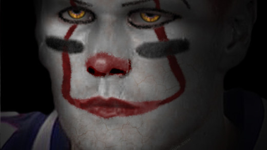 "Tom Brady / ""It"" Movie Poster"
