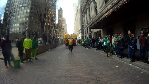 Timelapse of Pittsburgh St. Patrick's Day Parade 2017