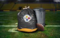 Steelers Garbage Bag