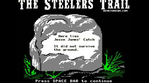 Steelers Trail – Jesse James Catch