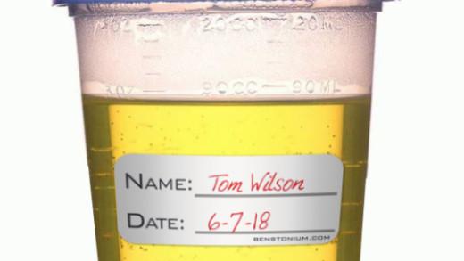Tom Wilson's Urine Cup