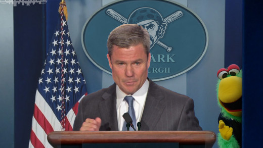 Frank Coonelly's White House Press Briefing