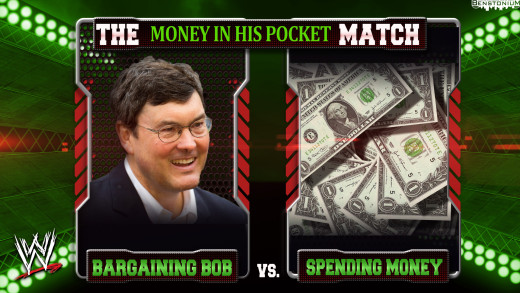 WWE Matchup – Bob Nutting vs. Spending Money