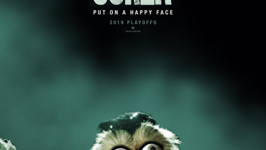 """Joker"" Movie Poster with Gritty"