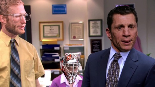 "Carolina Hurricanes | The Office ""Pep Talk"" Parody"