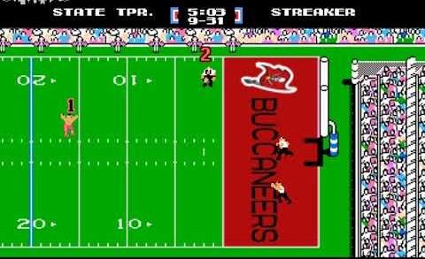 """Super Bowl """"Streaker""""   Tecmo Version"""