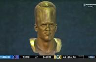 Peyton Manning Hall of Fame Bust