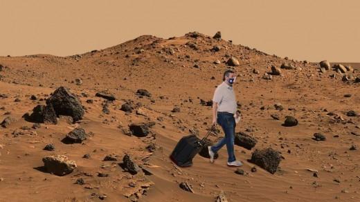 Ted Cruz on Mars