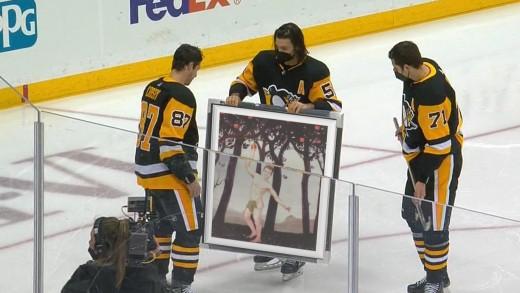 Sidney Crosby – Wedding Crashers Painting
