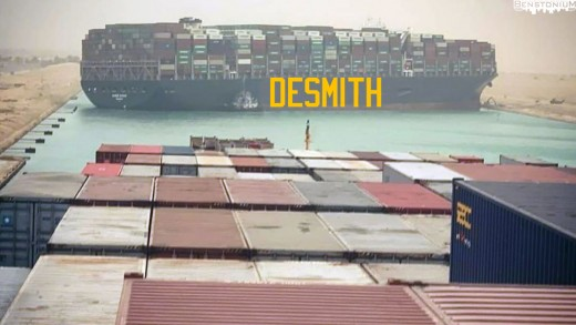 Suez Canal Ship – Casey DeSmith