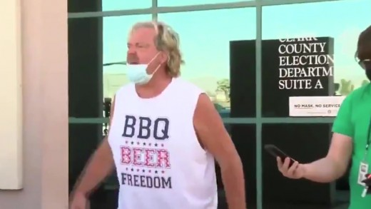 Trump Protestor – American Freight Remix
